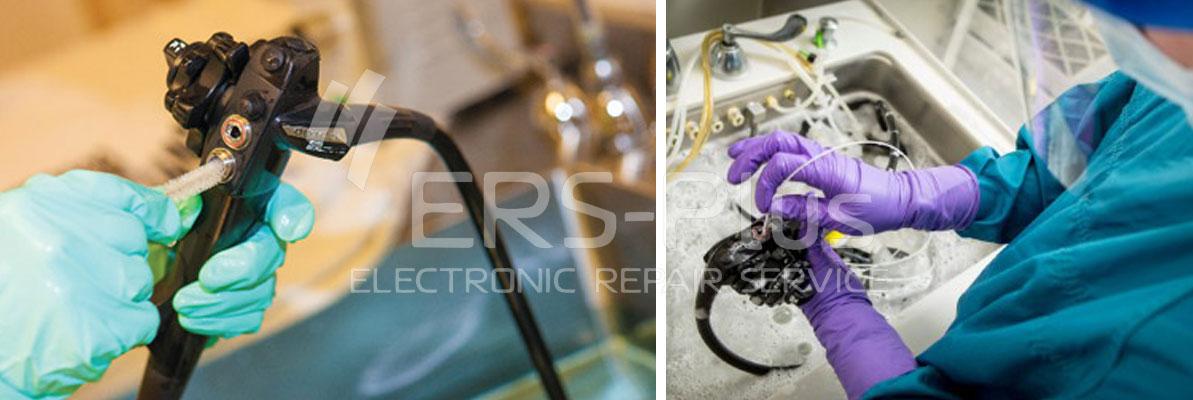 очистка эндосокпического оборудования